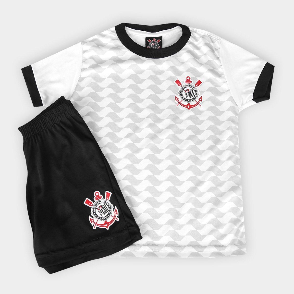 e6c271bd3e Conjunto Corinthians Libertados Infantil - Compre Agora