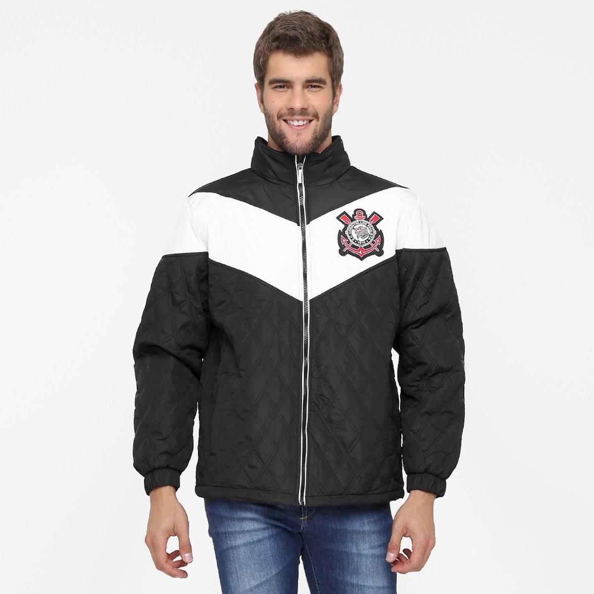 Jaqueta Corinthians Matelasse Benjamin Masculina - Compre Agora ... 2c3bab6086572