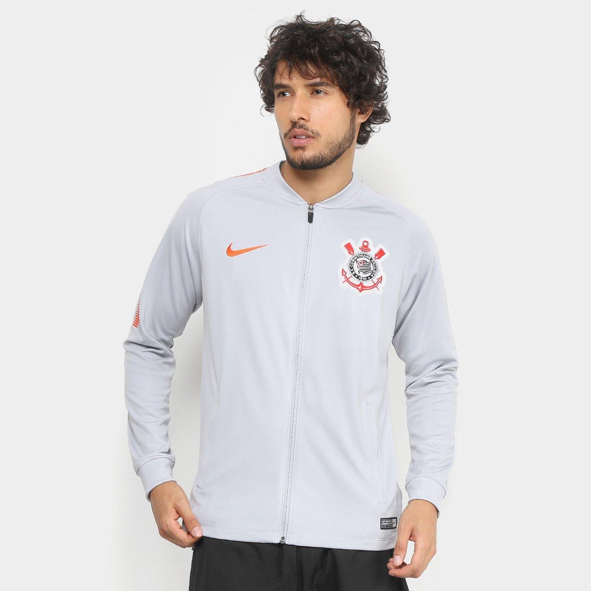 Jaqueta Corinthians Nike Dry Squad Track Masculina - Compre Agora ... dfecdc592d7ff