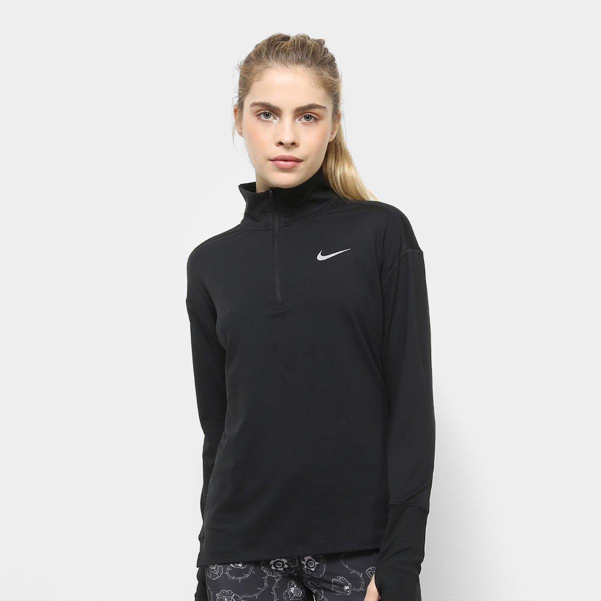 ccfd91fd1d188 Jaqueta Nike Element Top HZ Feminina - Preto - Compre Agora