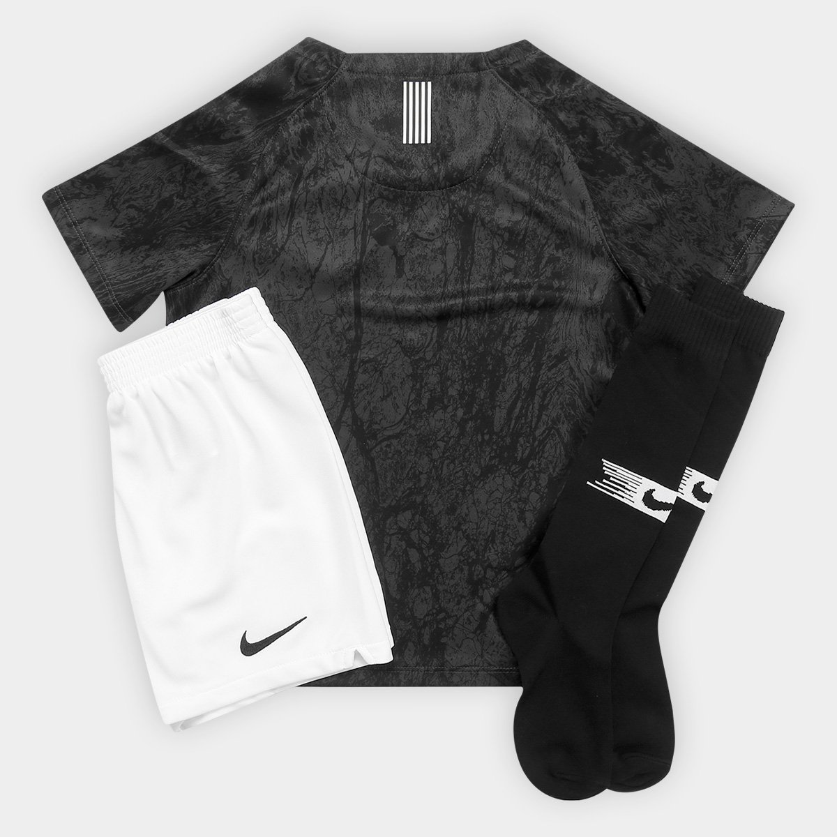 376ffa053b Kit Corinthians Infantil II 2018 s n° Torcedor Nike - Compre Agora ...