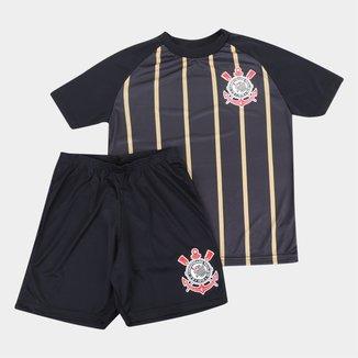 Kit Corinthians Juvenil Stripes