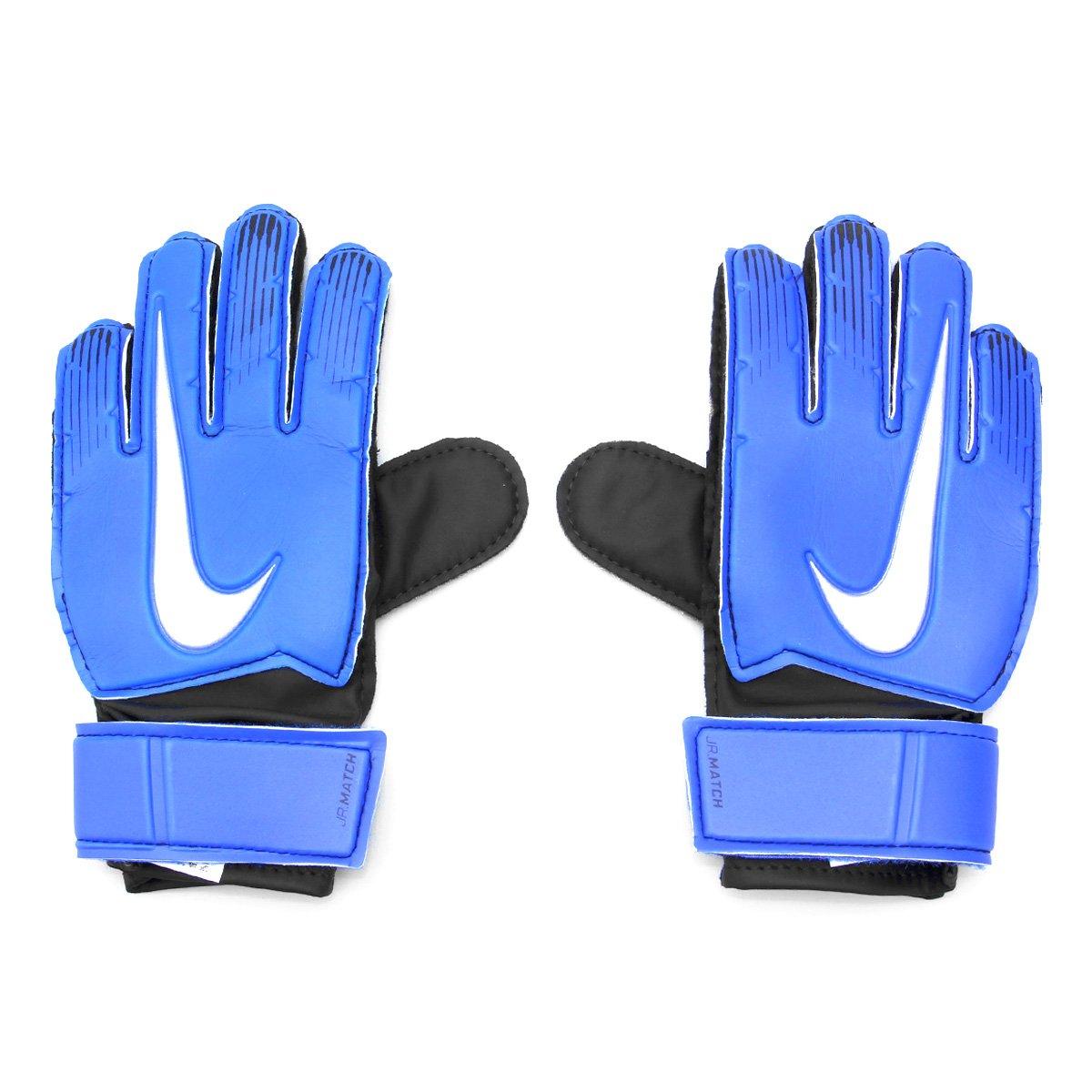 4d126766b Luva de Goleiro Infantil Nike Match - Azul e Preto