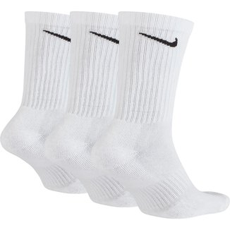 Meia Nike Cano Alto Everyday Cushion Pacote C/ 3 Pares