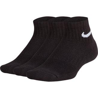 Meia Nike Everyday Cano Curto Kit 3 Pares