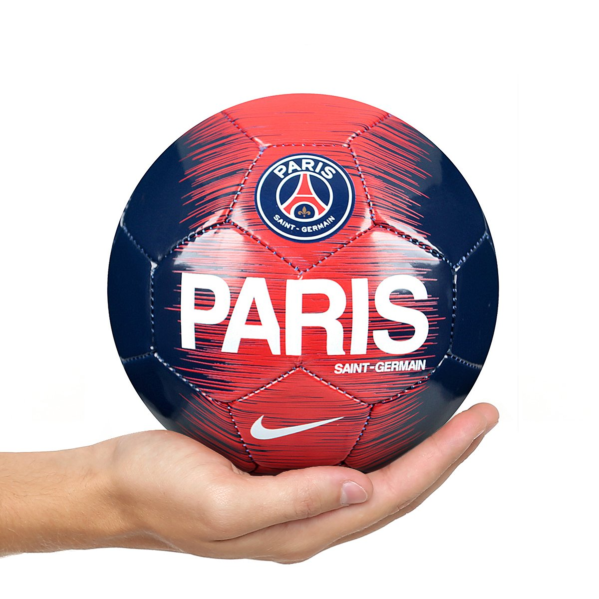 eff05072f3 Mini Bola de Futebol Paris Saint-Germain Skills Nike - Azul e Branco | Shop  Timão