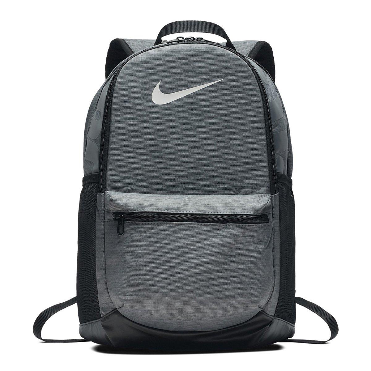 Mochila Nike Brasília - Cinza e Preto - Compre Agora  14b90093dcc0f