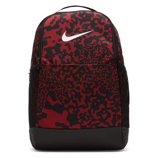 Mochila Nike Brsla M - Vermelho+Preto