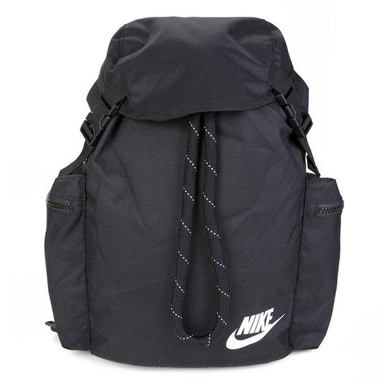 Mochila Nike Heritage - Preto+Branco