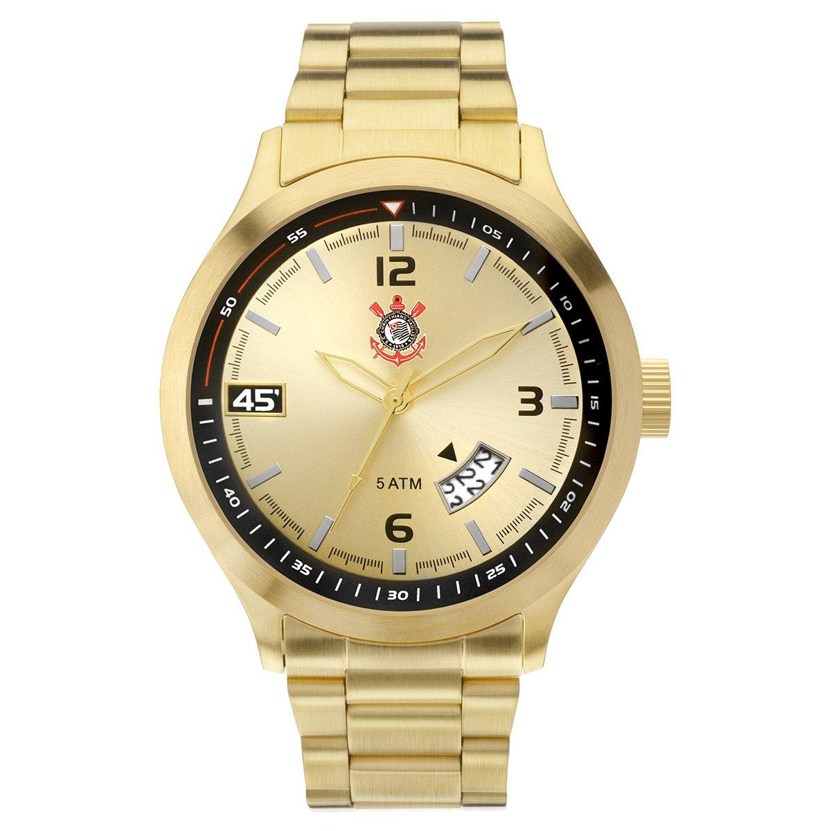 7729b200e44 Relógio Corinthians Technos Analógico Masculino - Compre Agora ...