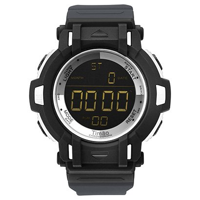 b5640d1ec76 Relógio Corinthians Technos Digital 5 ATM Masculino - Preto - Compre Agora
