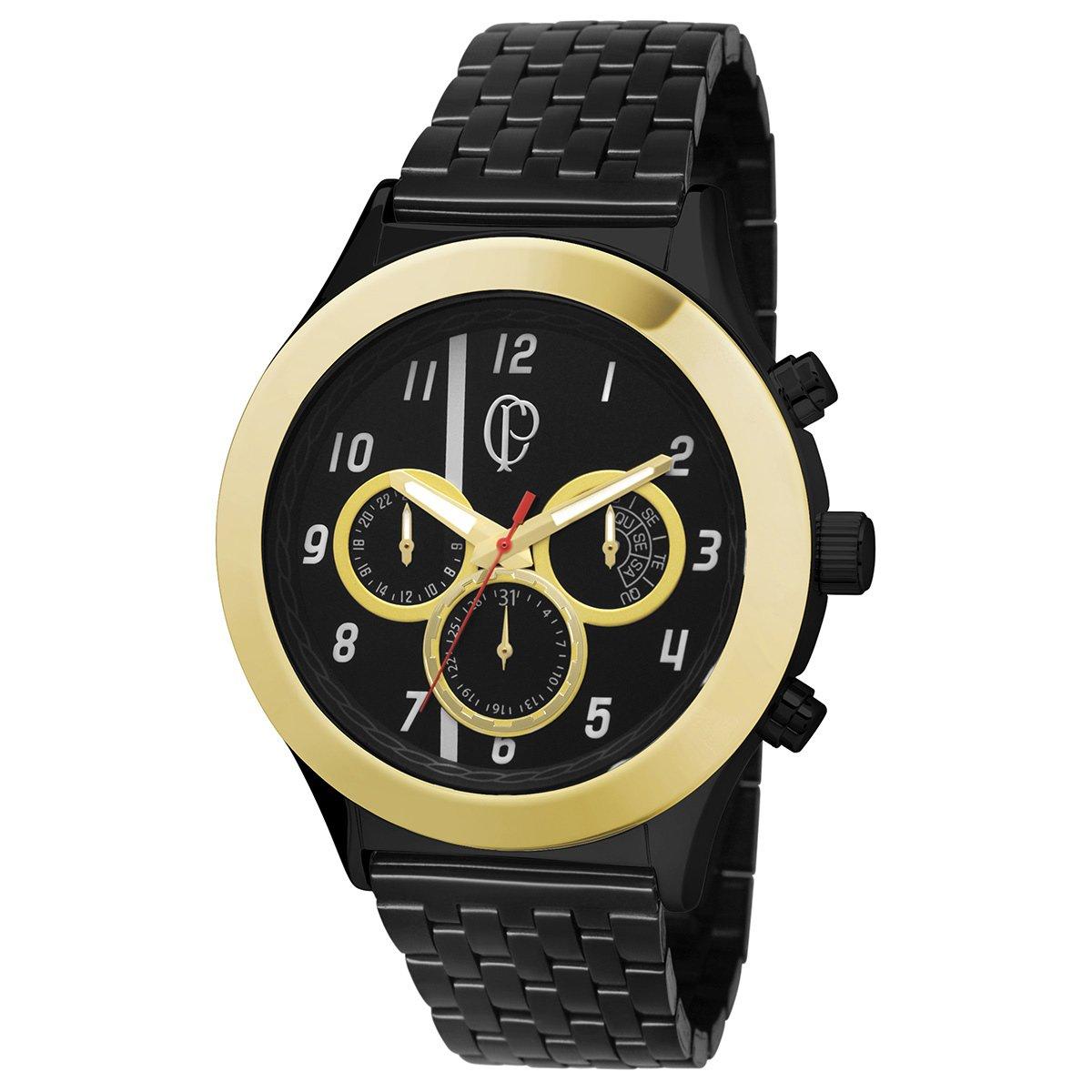 d34405ad747a2 Relógio Corinthians Technos Metal Analógico Cronógrafo - Compre Agora
