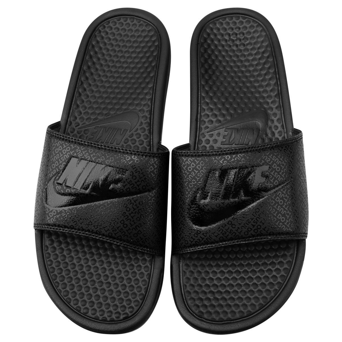 Sandália Nike Benassi JDI Masculina - Preto - Compre Agora  a4d7a541f75