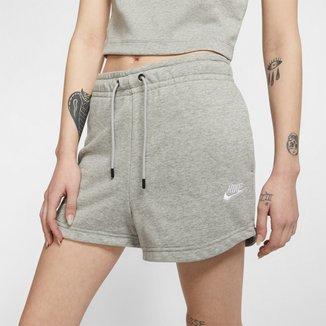 Short Moletom Nike Essential Nsw FT Feminino