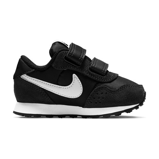 Tênis Bebê Nike MD Valiant BT Masculino - Preto+Branco