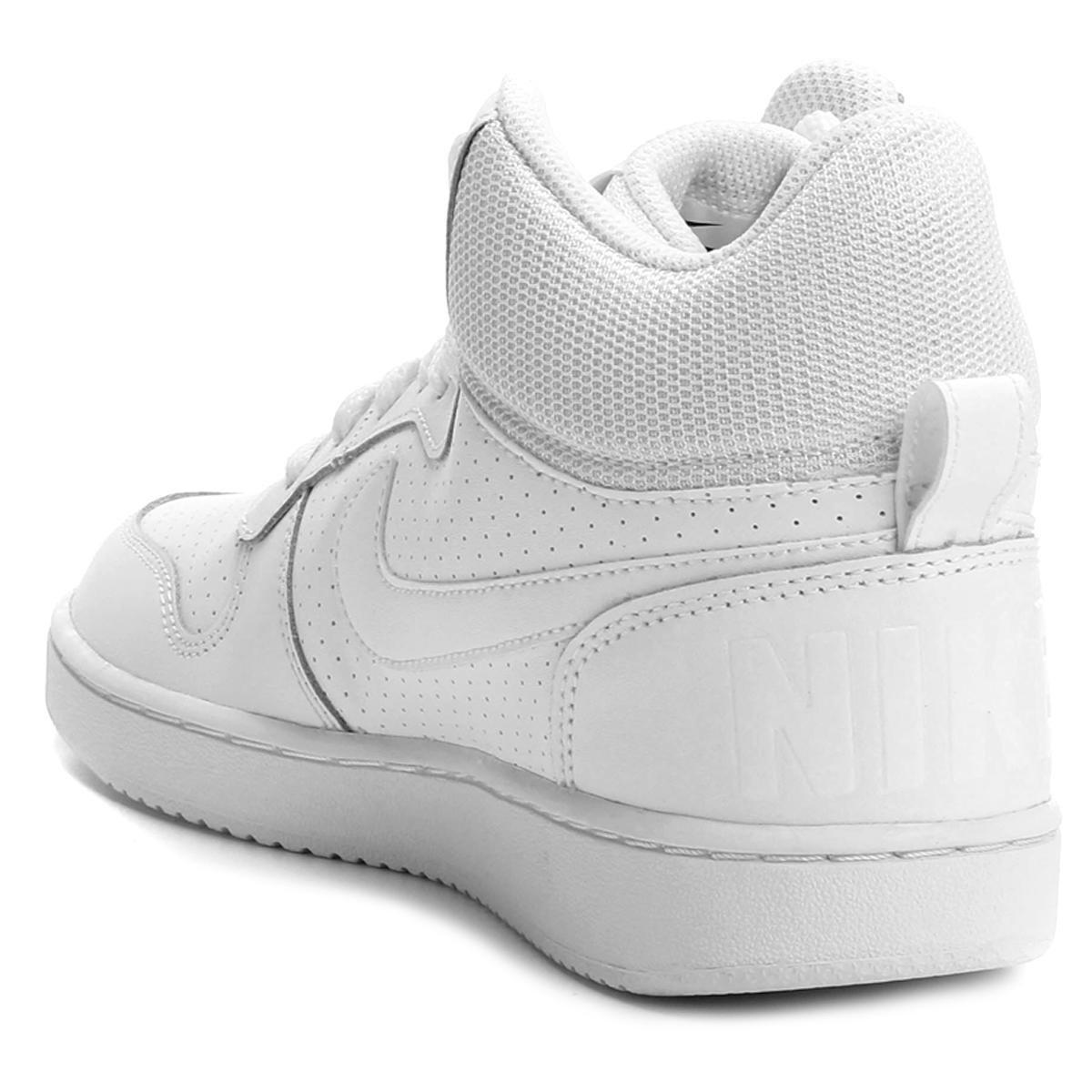 Tênis Couro Cano Alto Nike Recreation Mid Feminino Shop Timão