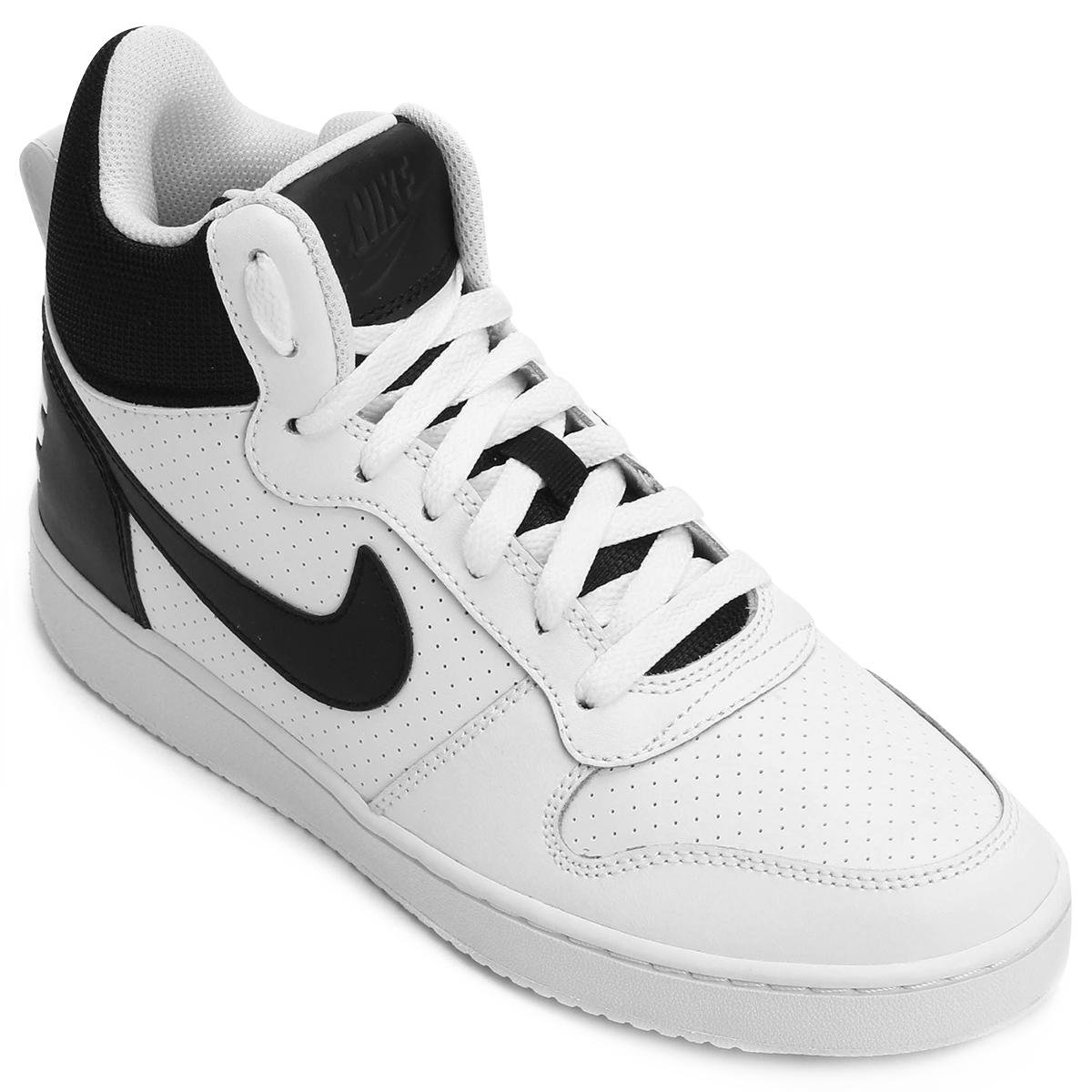 e41f424ec2d266 Tênis Couro Cano Alto Nike Recreation Mid Masculino - Compre Agora ...