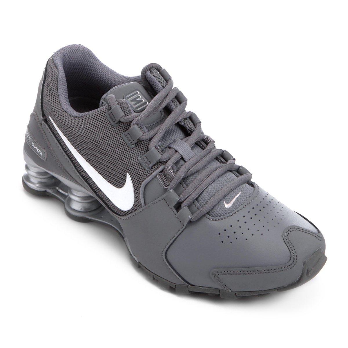 ee1e38c7af Tênis Couro Nike Shox Avenue LTR Masculino - Compre Agora