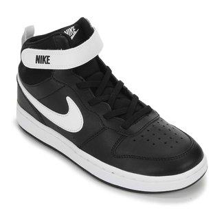 Tênis Infantil Cano Médio Nike Court Borough