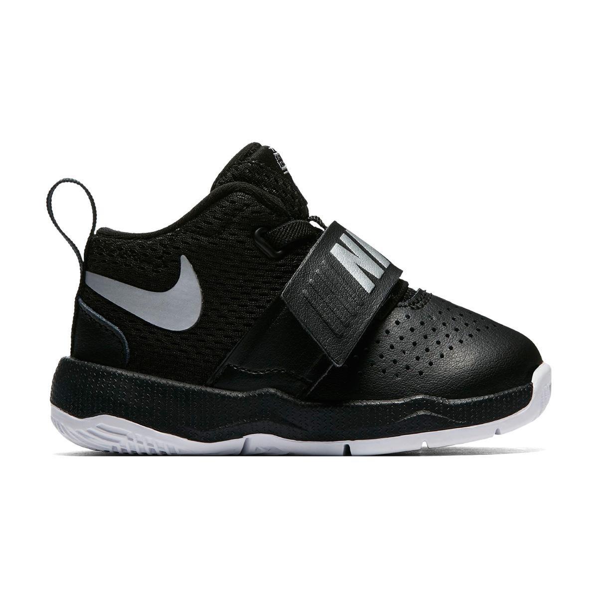53f32af7e0d Tênis Infantil Couro Nike Team Hustle D Masculino - Preto e Branco - Compre  Agora