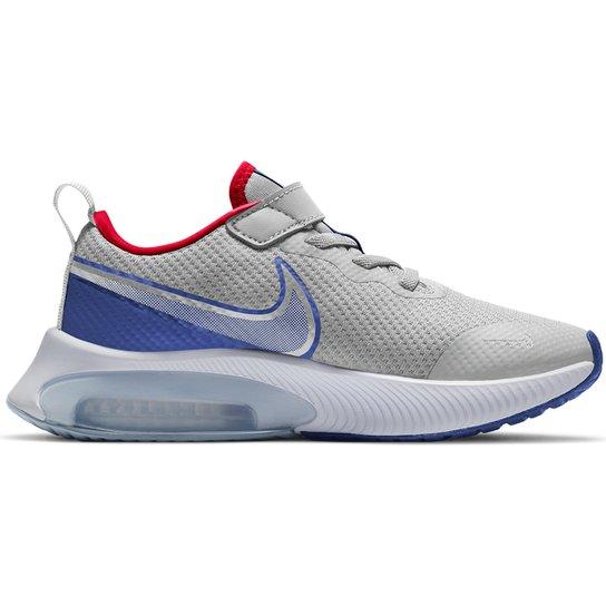 Tênis Infantil Nike Air Zoom Arcdia - Cinza+Vermelho