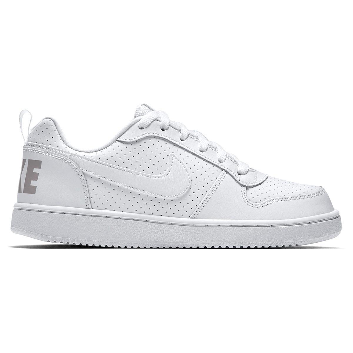 2b64f6aa9a6 Tênis Infantil Nike Court Borough Low - Branco - Compre Agora
