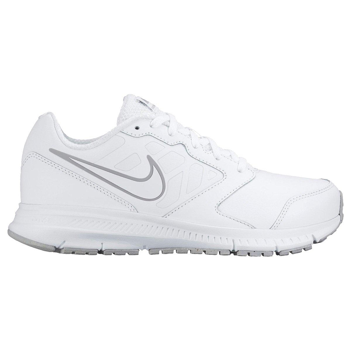 552dee196 Tênis Infantil Nike Downshifter 6 Masculino - Branco e Cinza - Compre Agora