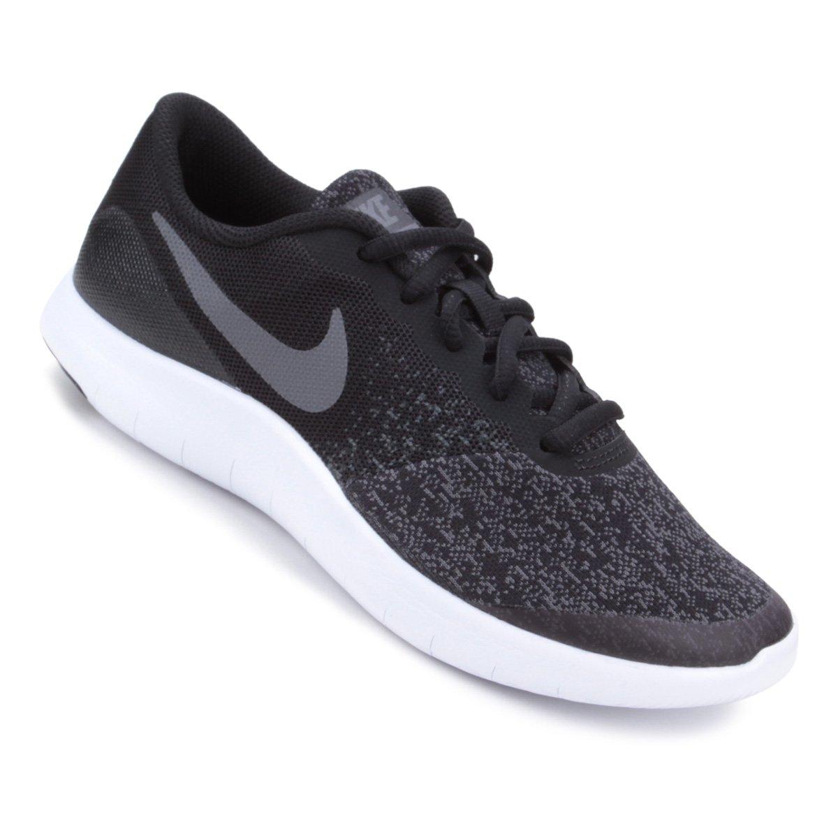 3213d501311 Tênis Infantil Nike Flex Contact Gs Masculino - Cinza e Preto - Compre  Agora
