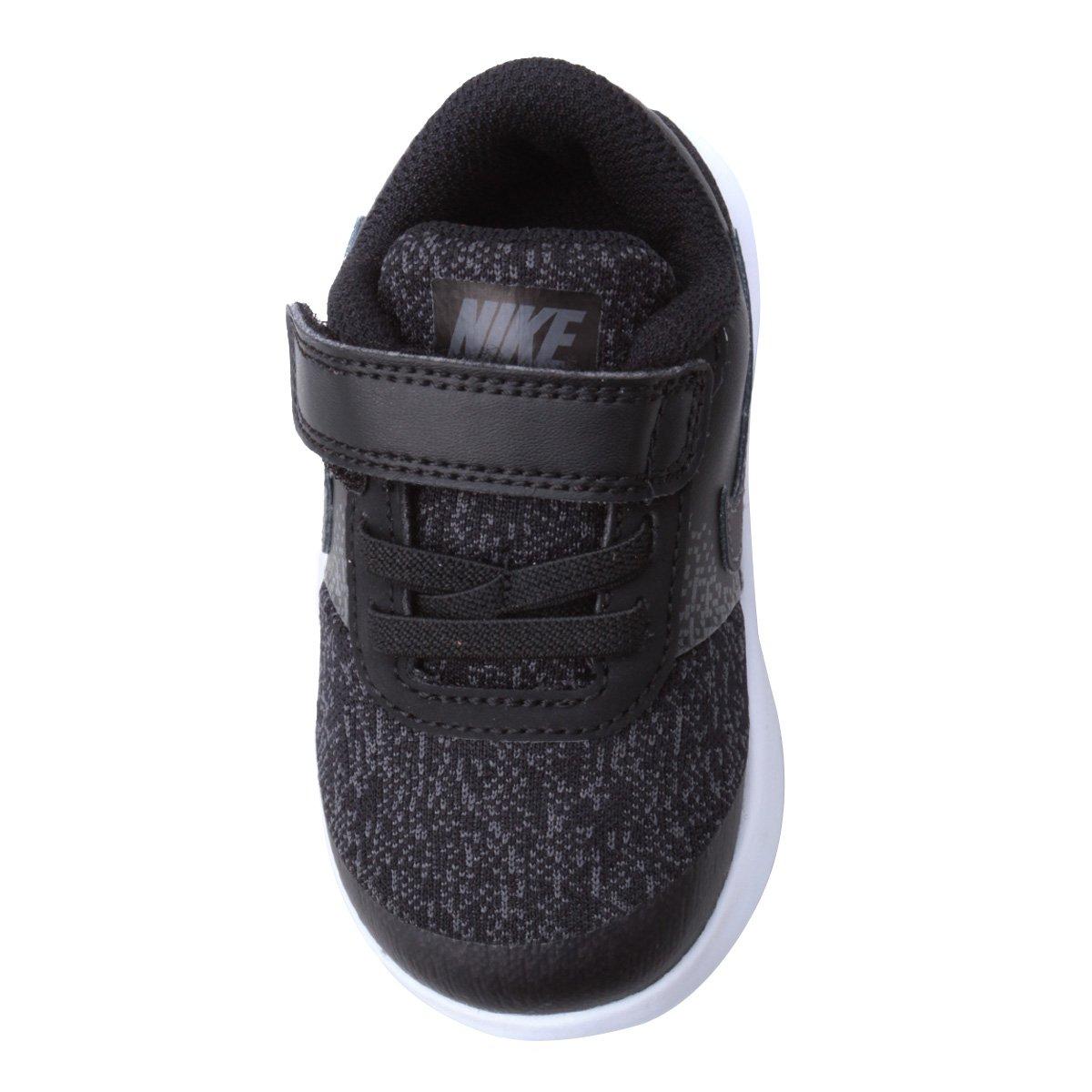 7d53c3cb54 Tênis Infantil Nike Flex Contact Masculino - Cinza e Preto - Compre ...