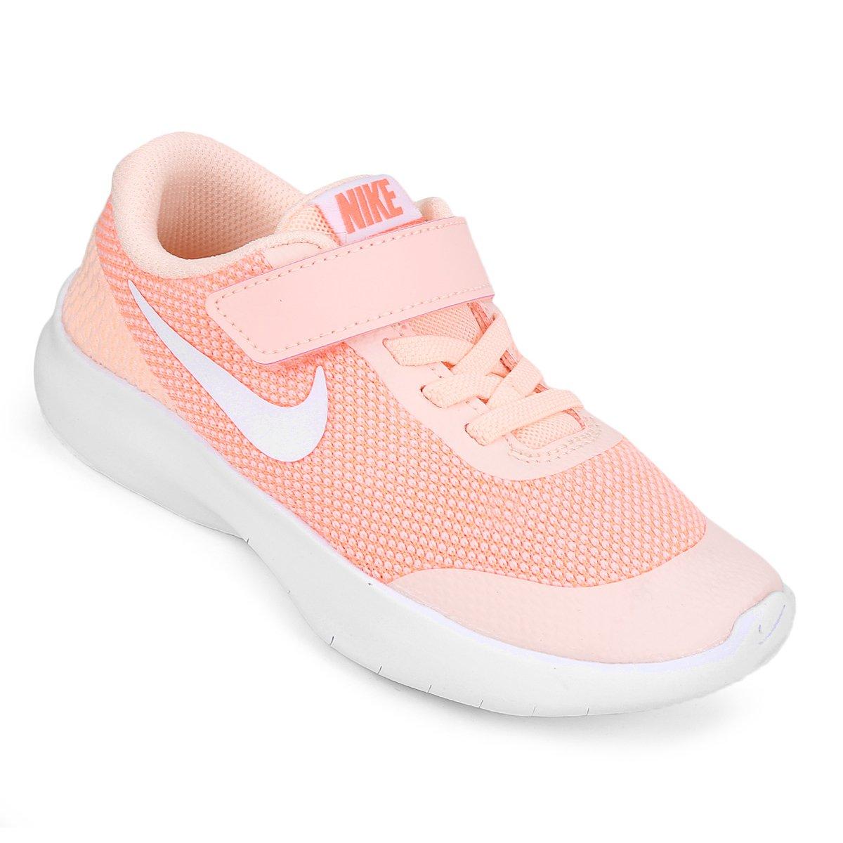 f8f74995e9c Tênis Infantil Nike Flex Experience Run 7 Feminino - Salmão - Compre Agora