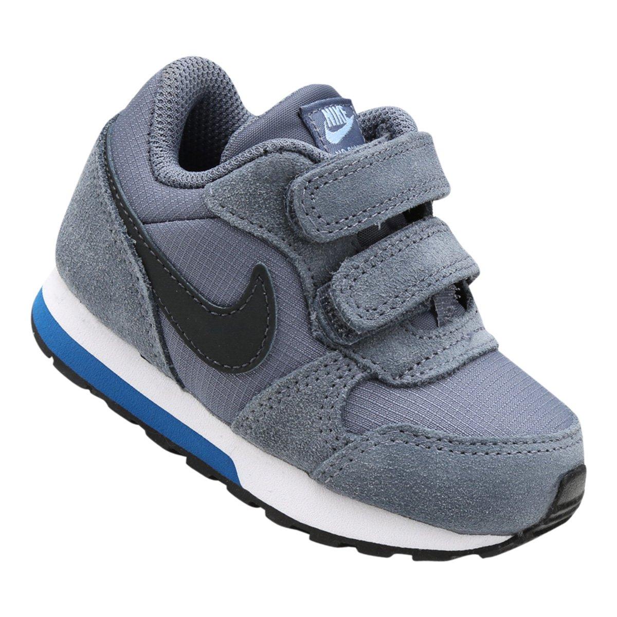 Tênis Infantil Nike Mid Runner 2 - Azul Claro e Preto - Compre Agora ... c82e65d21c5eb