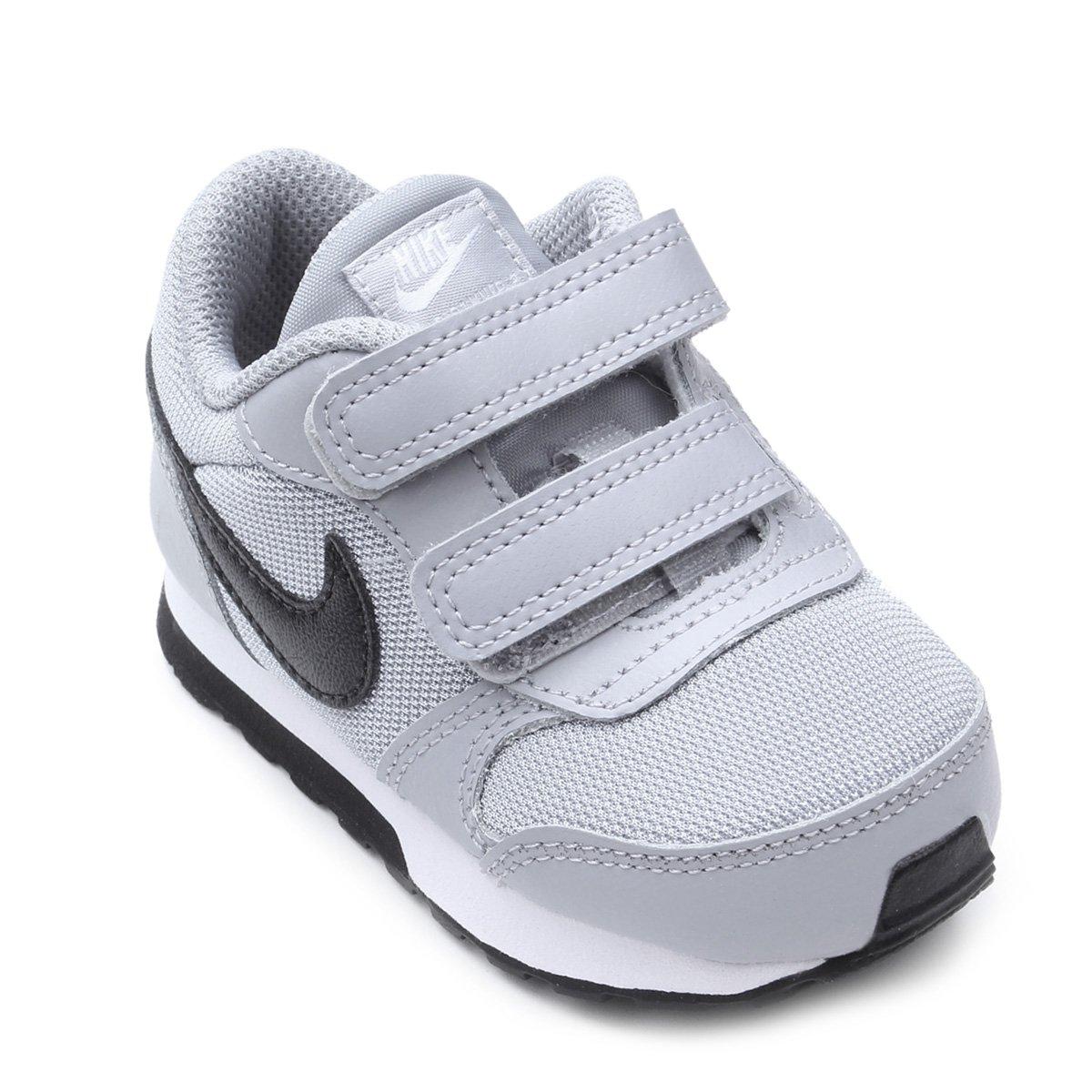 a7b3095732b Tênis Infantil Nike Mid Runner 2 - Preto e Cinza - Compre Agora ...