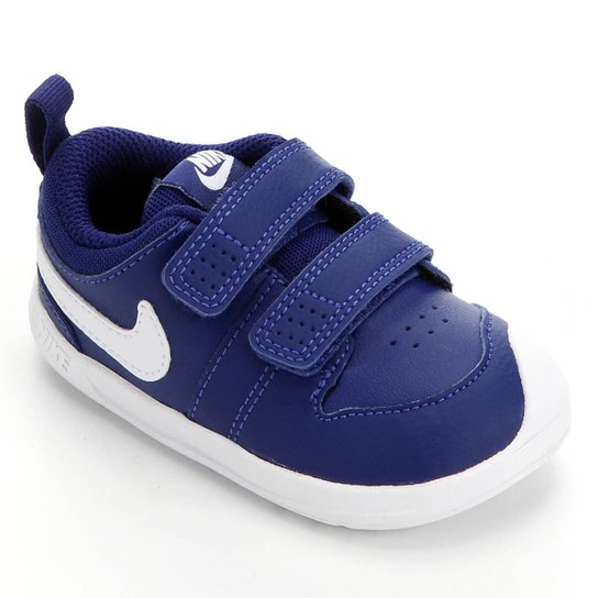 Tênis Infantil Nike Pico 5 - Azul Royal+Branco