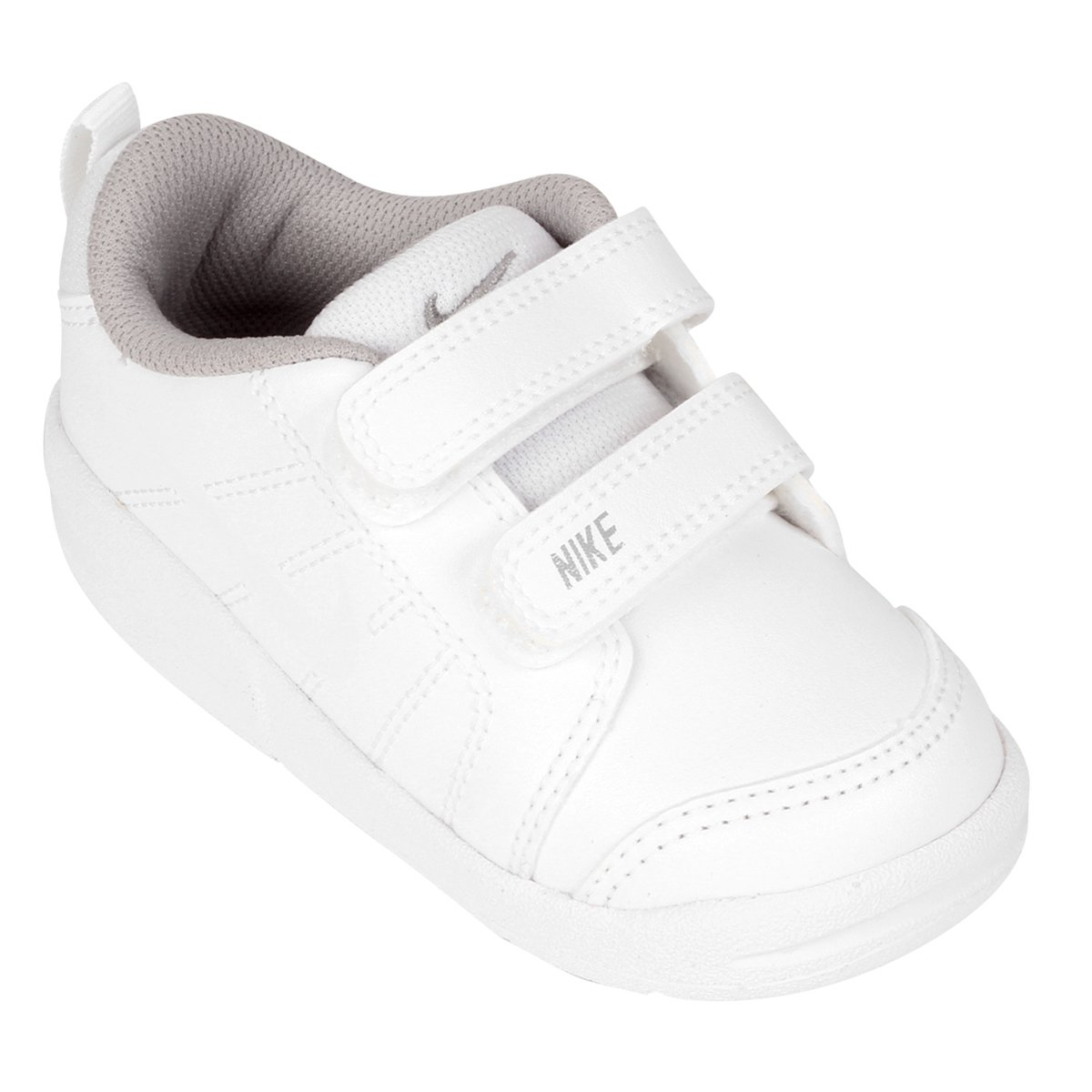 871ebeeb7 Tênis Infantil Nike Pico Lt Masculino - Branco e Cinza - Compre Agora
