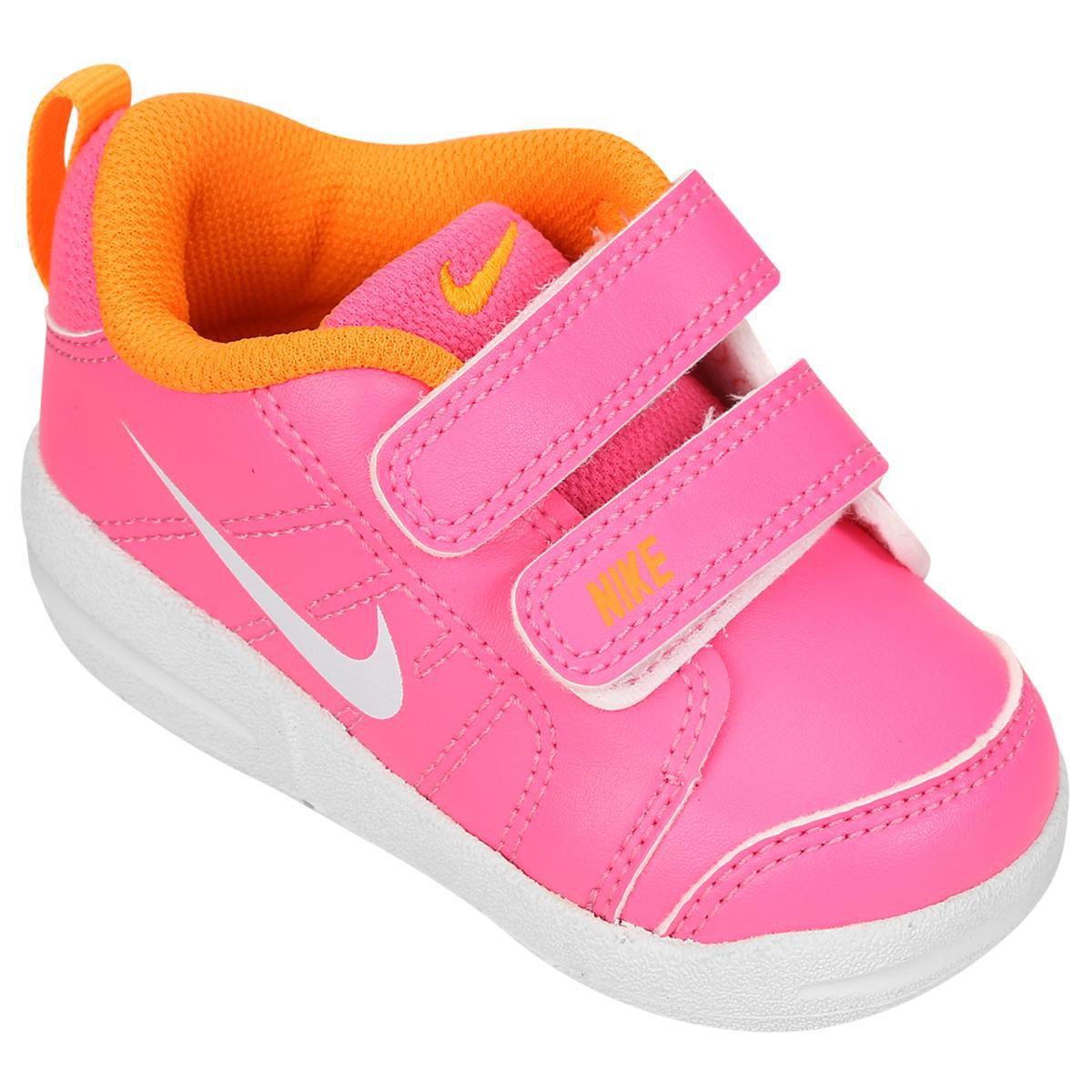 081e6da9190 Tênis Infantil Nike Pico Lt - Rosa e Laranja - Compre Agora