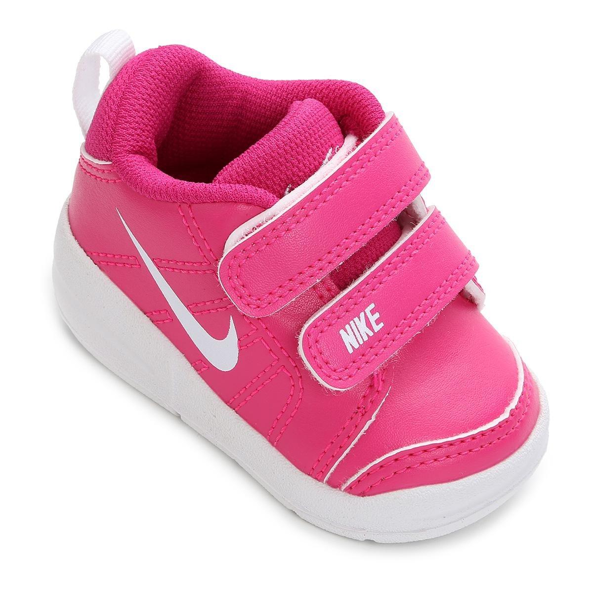 13de589f04b Tênis Infantil Nike Pico Lt - Rosa e Branco - Compre Agora