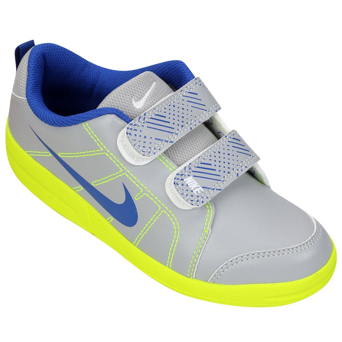 ab993043eeb Tênis Infantil Nike Pico Lt - Cinza e Azul - Compre Agora