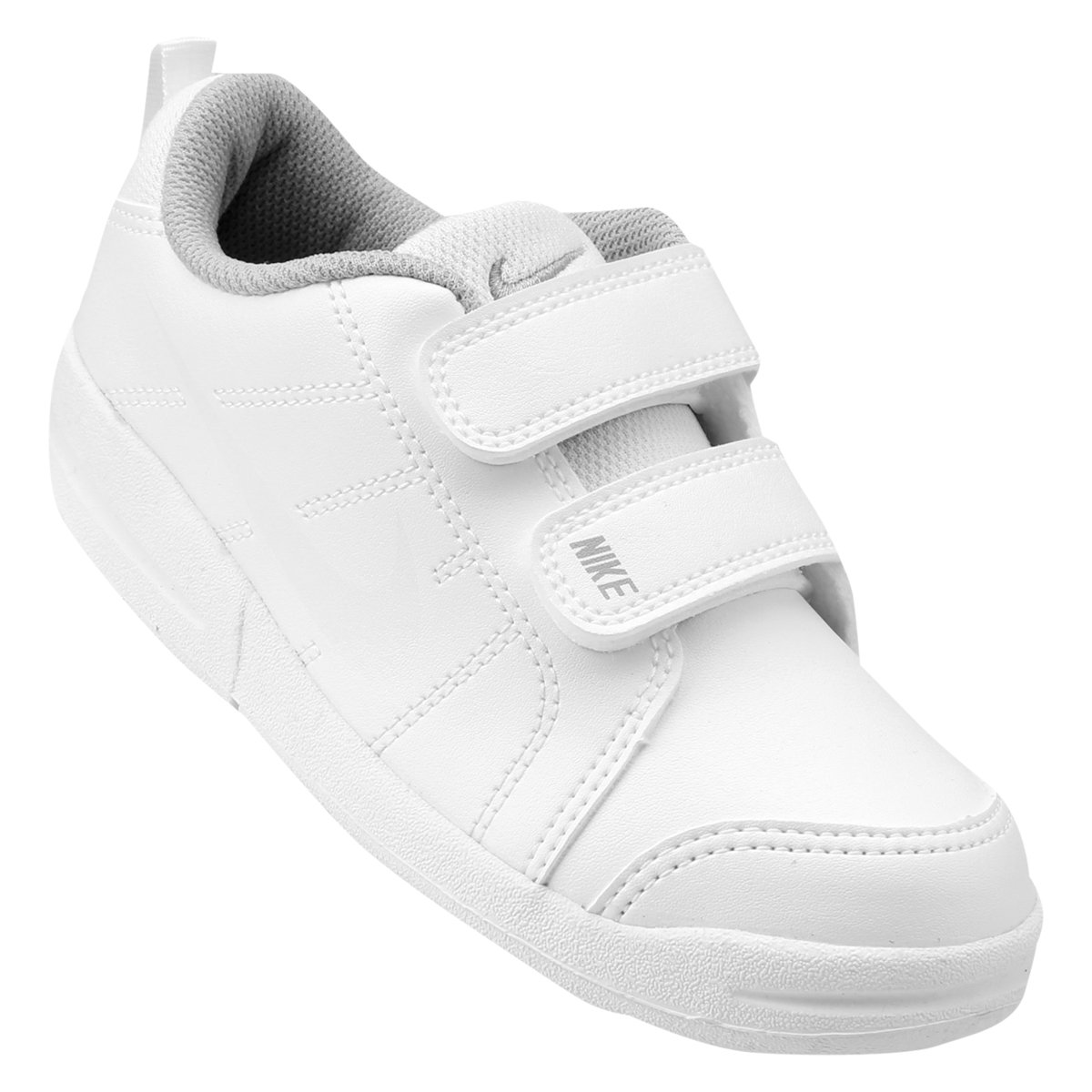 4f35c659f2f Tênis Infantil Nike Pico Lt - Branco e Cinza - Compre Agora