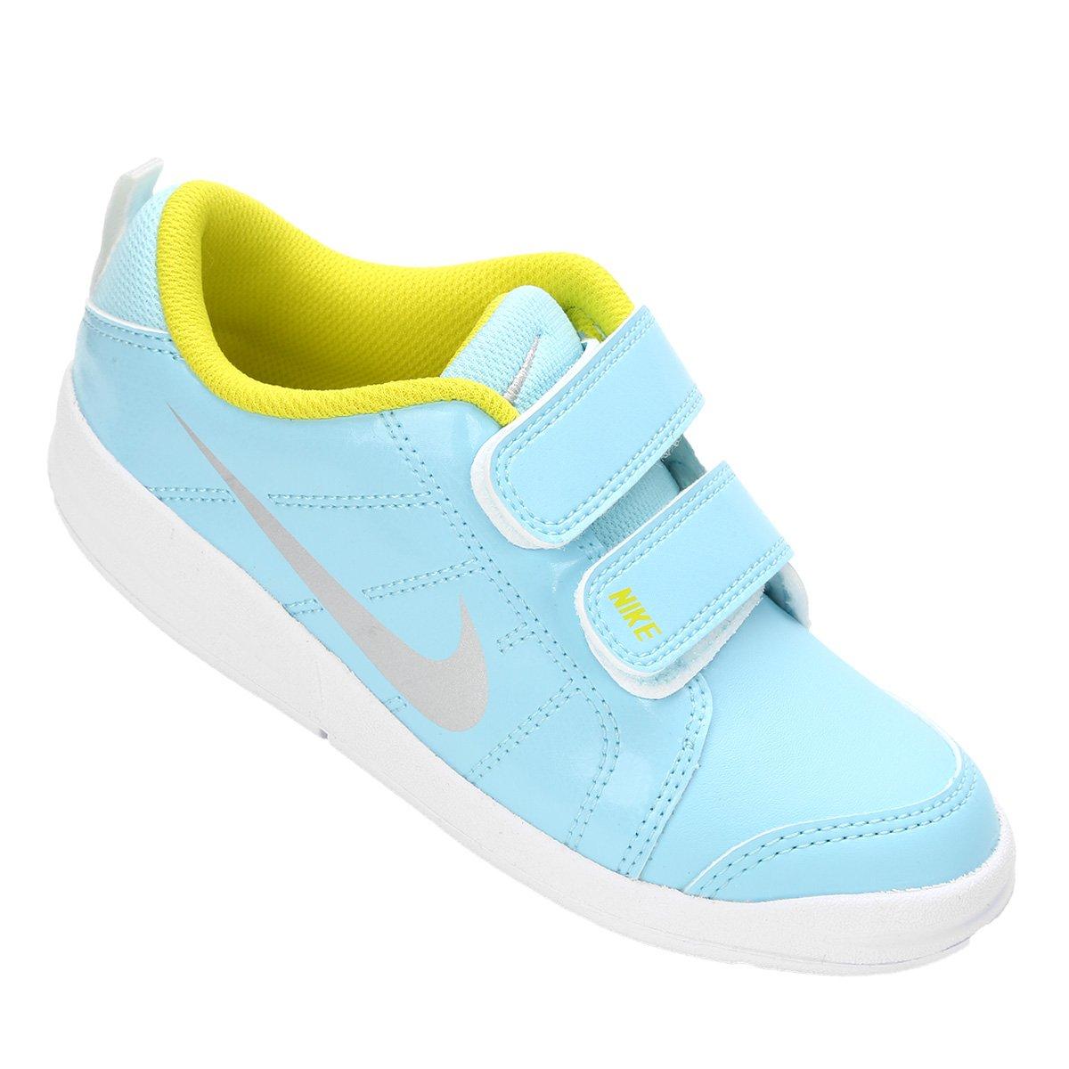 c8745e24cde Tênis Infantil Nike Pico Lt - Azul e Branco - Compre Agora