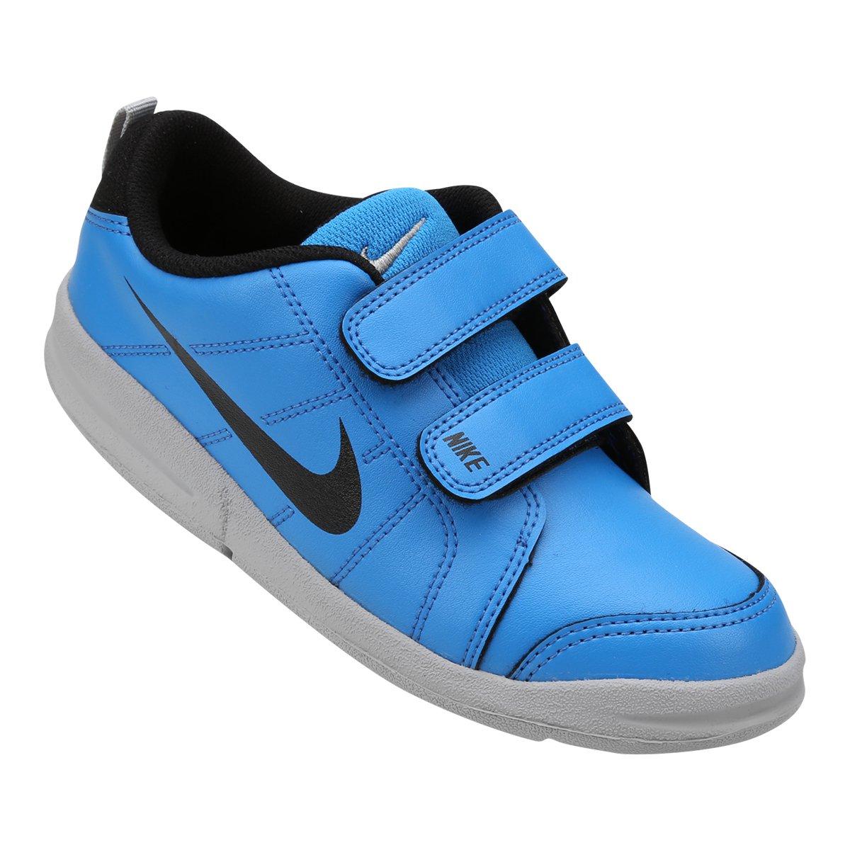 6e548eb0d0c Tênis Infantil Nike Pico Lt - Azul e Cinza - Compre Agora