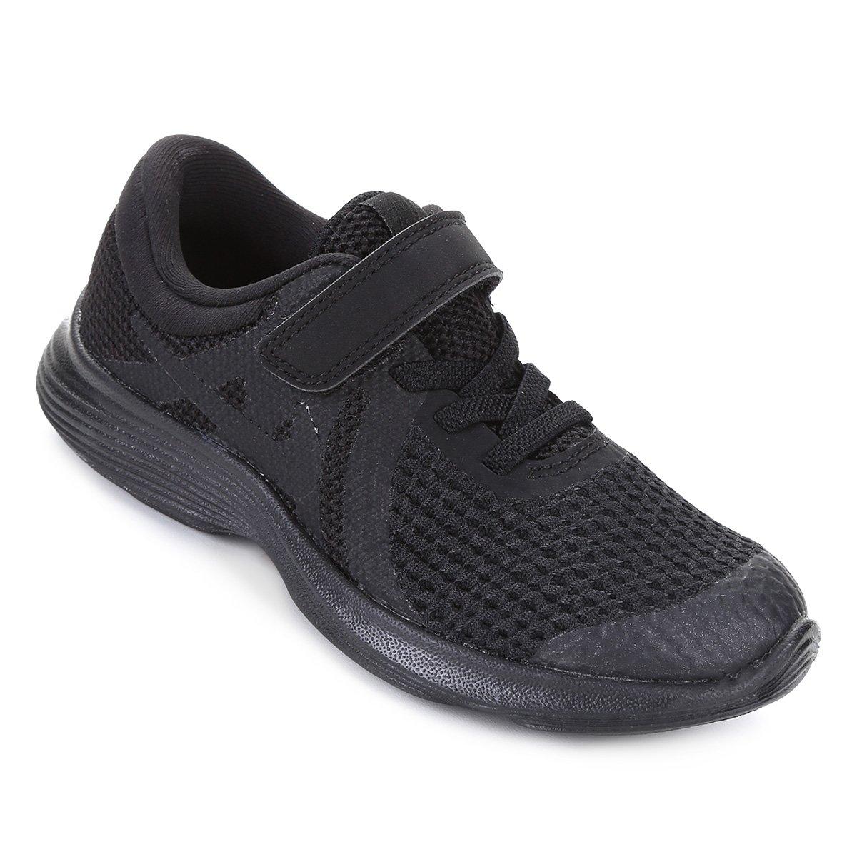 b4162203e2f7c Tênis Infantil Nike Revolution 4 Masculino - Preto - Compre Agora ...