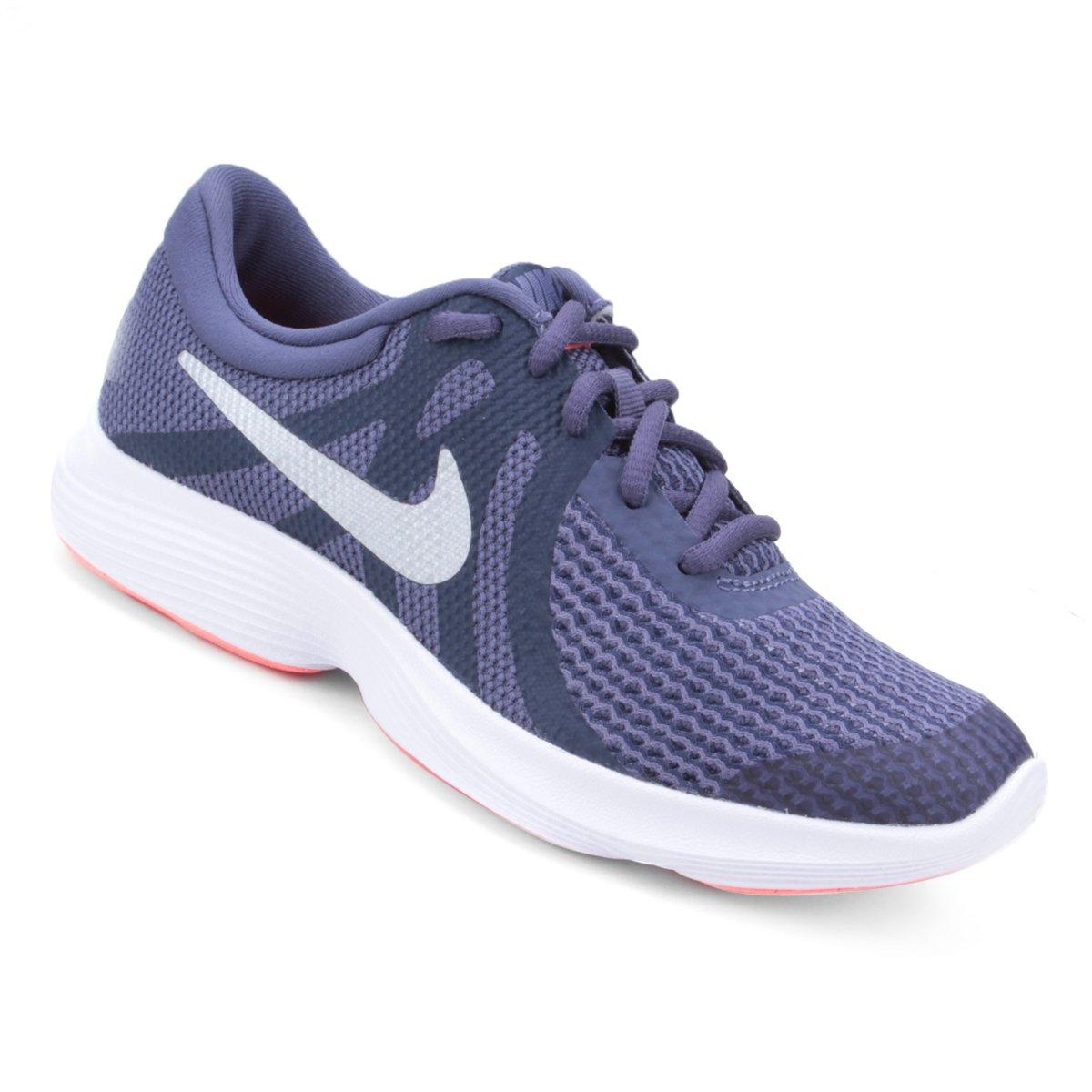 41ffa991305 Tênis Infantil Nike Revolution 4 Masculino - Roxo - Compre Agora ...