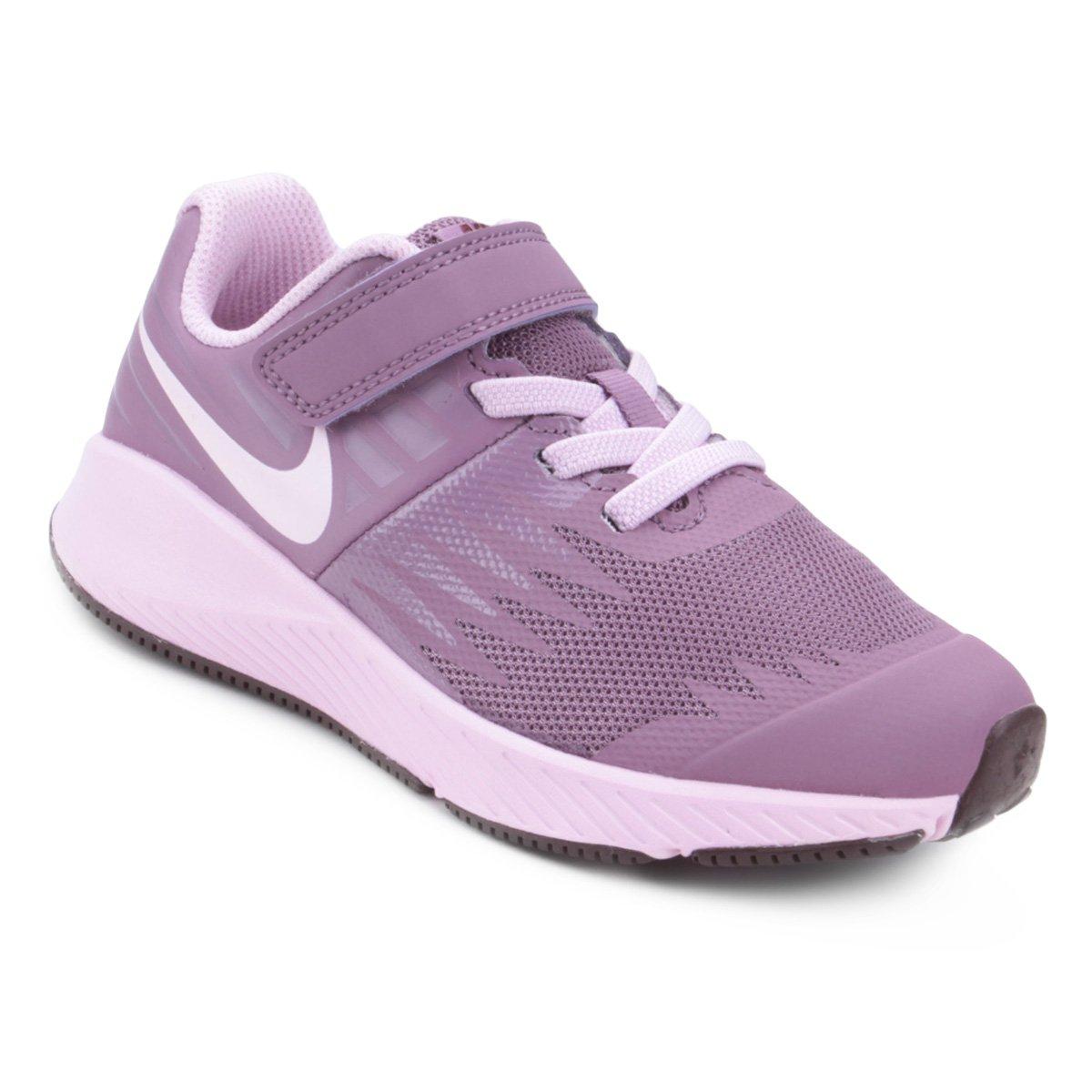 Tênis Infantil Nike Star Runner Feminino - Roxo - Compre Agora ... 73f4f2b5ffa34