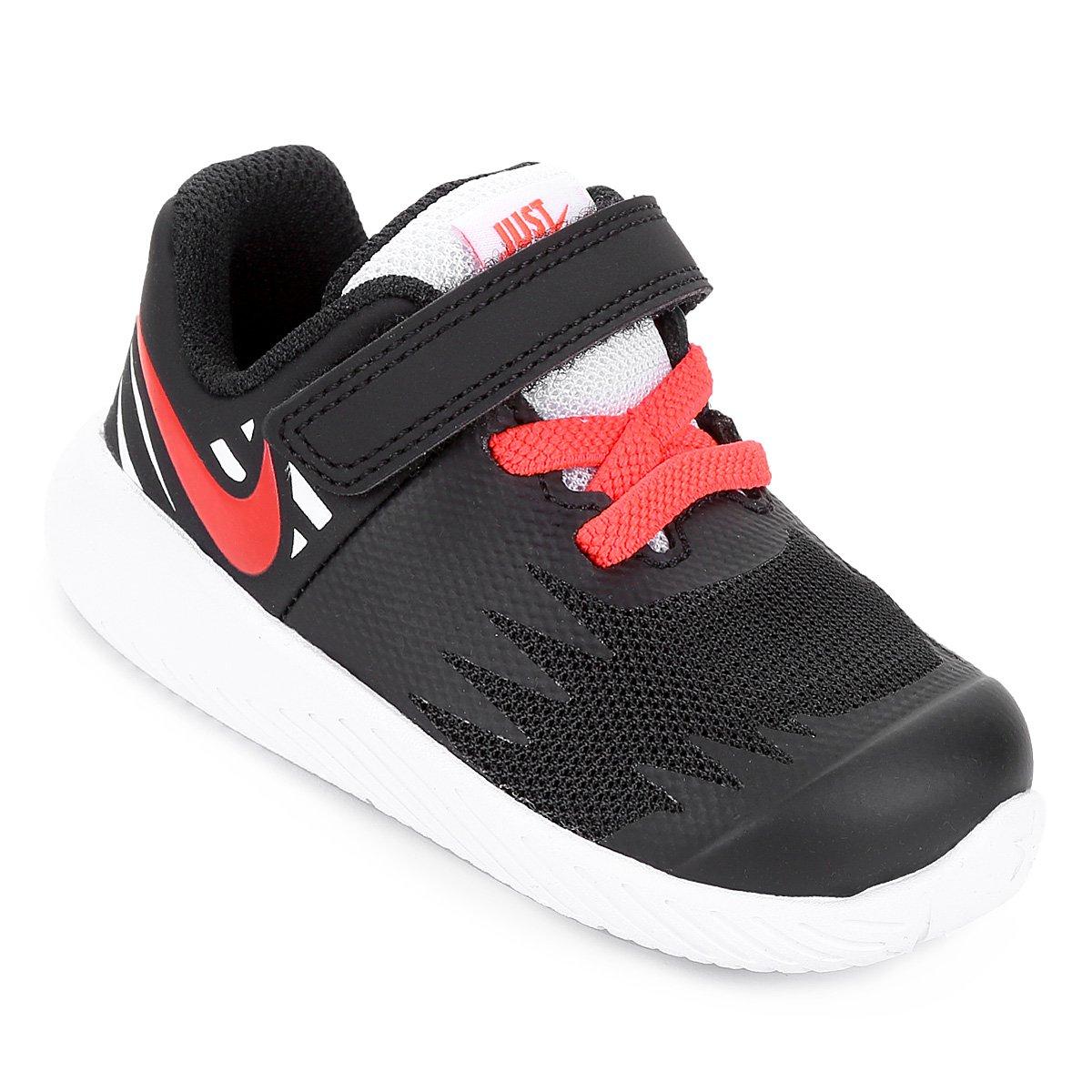 339760bb64a Tênis Infantil Nike Star Runner Masculino - Preto e Branco - Compre Agora
