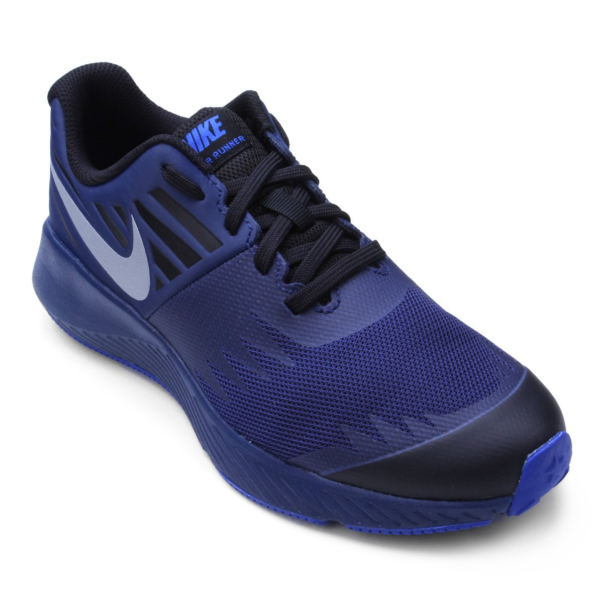 Tênis Infantil Nike Star Runner Masculino - Azul - Compre Agora ... 1e9c086f813b9