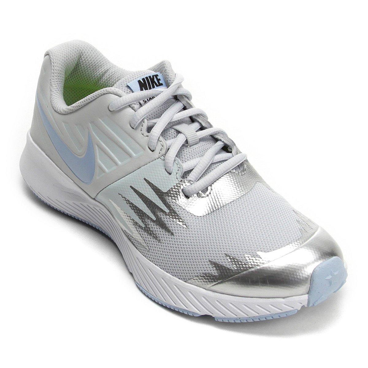 1dfb7b0df Tênis Infantil Nike Star Runner - Prata | Shop Timão