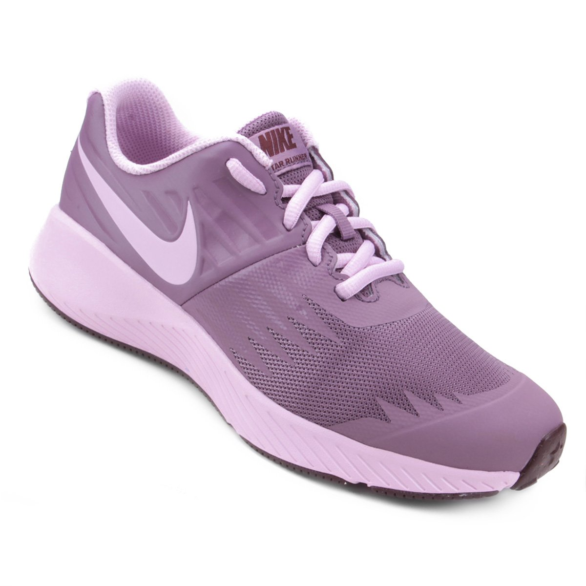 dc596ae794 Tênis Infantil Nike Star Runner - Roxo | Shop Timão