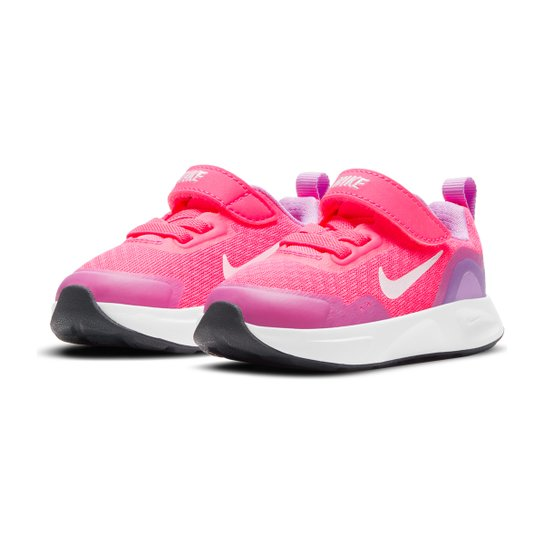 Tênis Infantil Nike Wearallday Masculino - Rosa+Branco