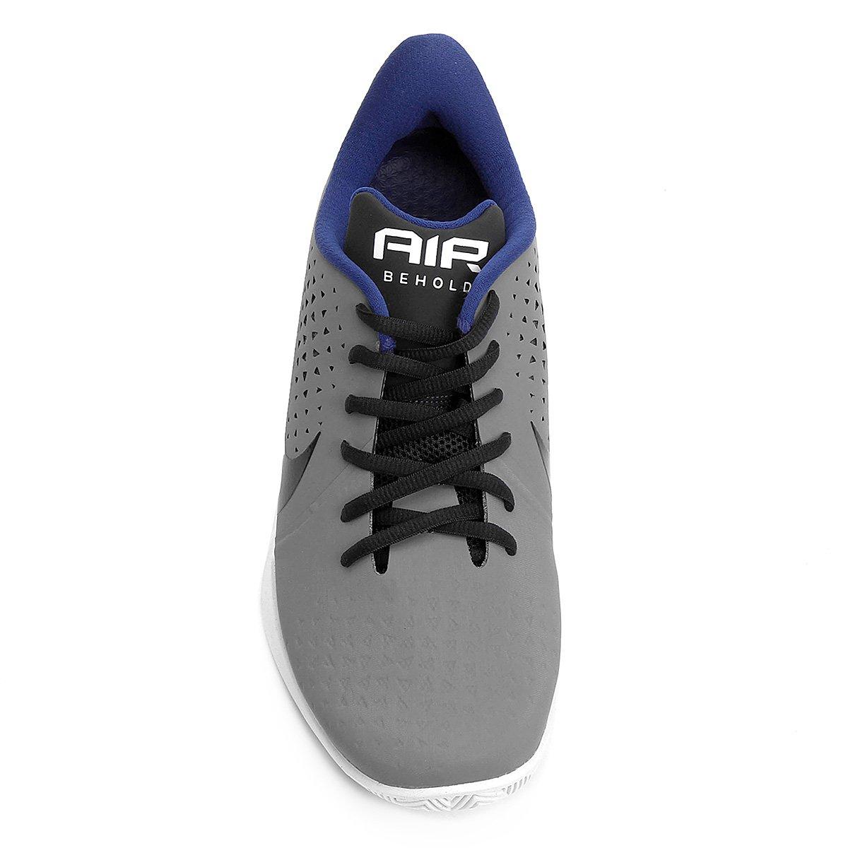 Tênis Nike Air Behold Low Masculino - Cinza e Azul - Compre Agora ... d491f92cc5467