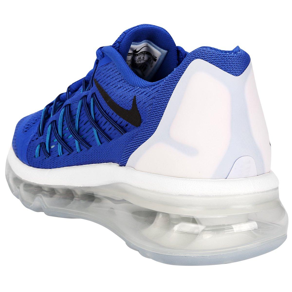 b90412cd8af ... Tênis Nike Air Max 2015 Juvenil - Azul e Branco . ...